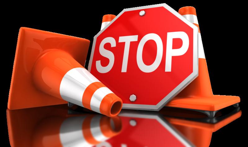 Verkehrszeichen Stop